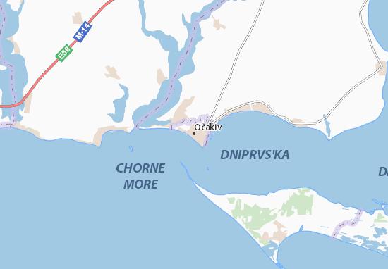 Mapa Plano Očakiv