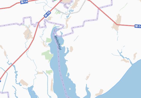 Mapa Plano Hirsivka