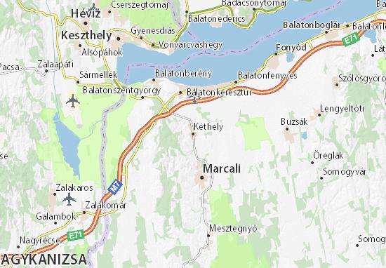Kéthely Map