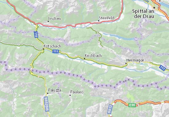 Mapa Plano Kirchbach