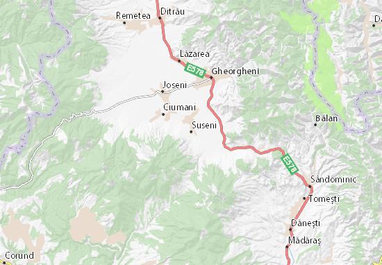 Suseni Map