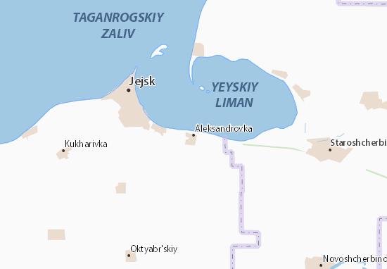 Carte-Plan Aleksandrovka
