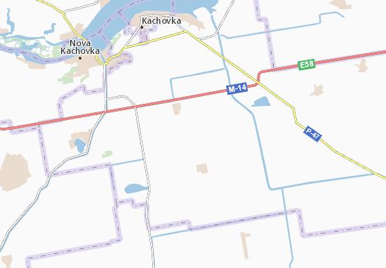 Chornomorivka Map