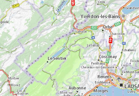 Carte-Plan Pétra-Félix