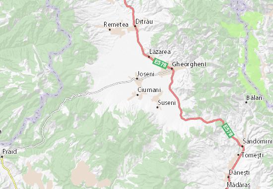 Ciumani Map