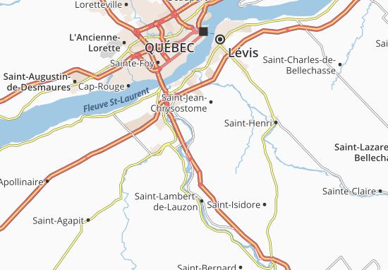 Sainte-Hélène-de-Breakeyville Map