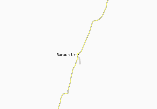 Mappe-Piantine Baruun-Urt