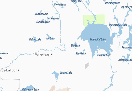 Capreol Map