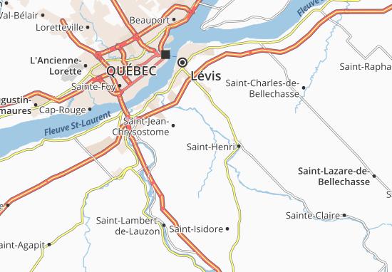 Mapas-Planos Saint-Jean-Chrysostome