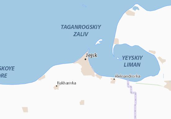 Mapas-Planos Jejsk