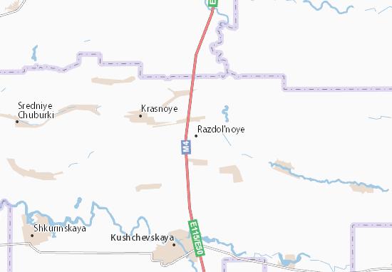 Mappe-Piantine Razdol'noye