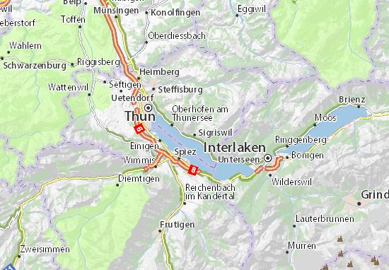 Mapas-Planos Sigriswil