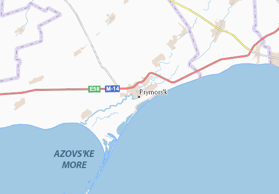 Mapas-Planos Prymors'k