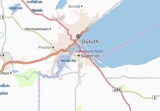 Superior Map
