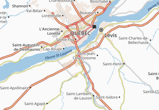 Charny Map
