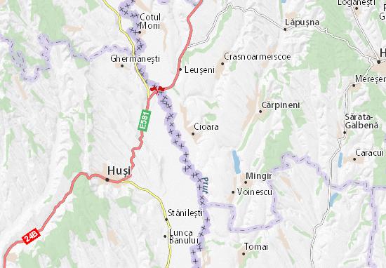 Mappe-Piantine Cioara