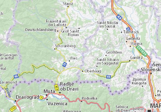 Mapas-Planos Sulmeck-Greith