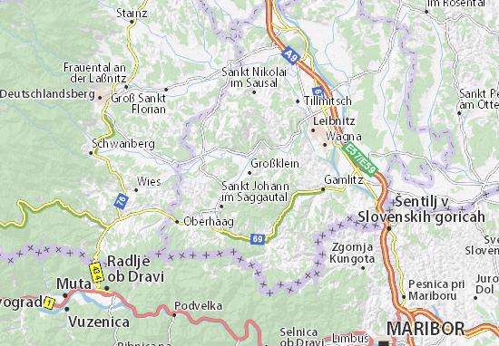Mapa Plano Großklein