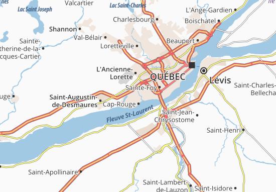 Mappe-Piantine Cap-Rouge