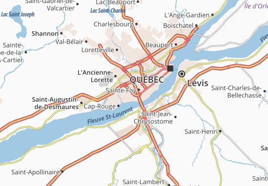 Sainte-Foy Map