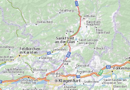 Sankt Veit an der Glan Map