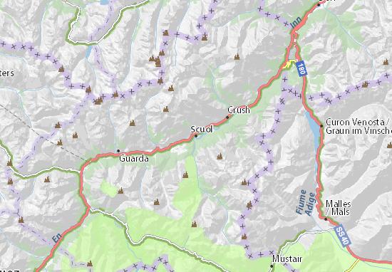 Scuol Map