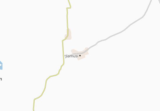 Kaart Plattegrond Jiamusi