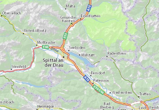 Millstatt Map