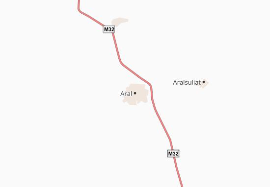 Carte-Plan Aral