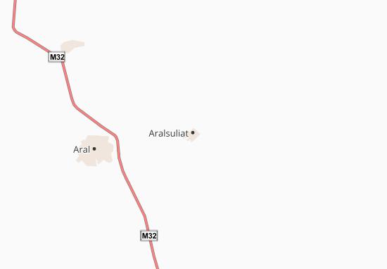 Carte-Plan Aralsol'