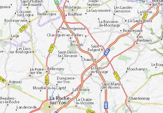 Mapa Plano Chauché