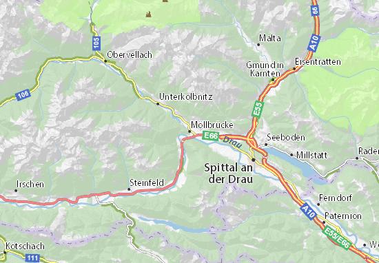 Mapas-Planos Möllbrücke