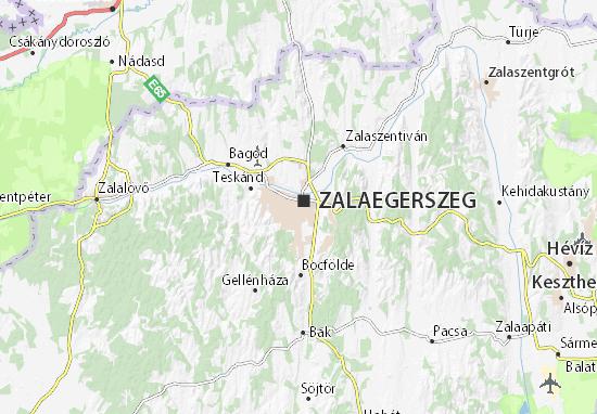 Zalaegerszeg Map