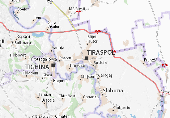 Tiraspol Map