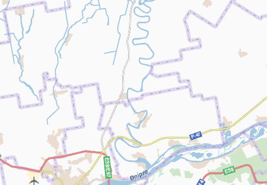 Carte-Plan Novotymofiivka