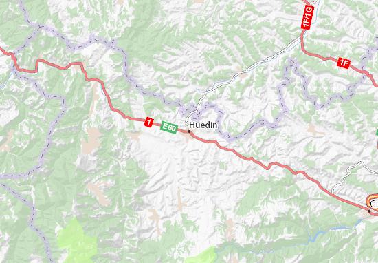 Huedin Map