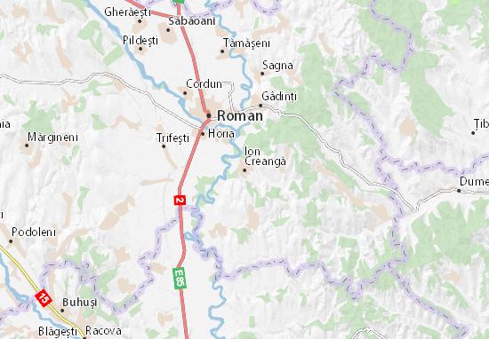 Ion Creangă Map