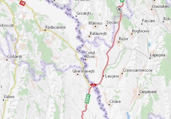 Cotul Morii Map