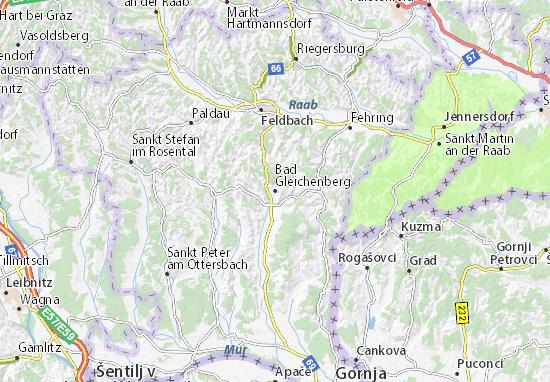 Mapas-Planos Bad Gleichenberg