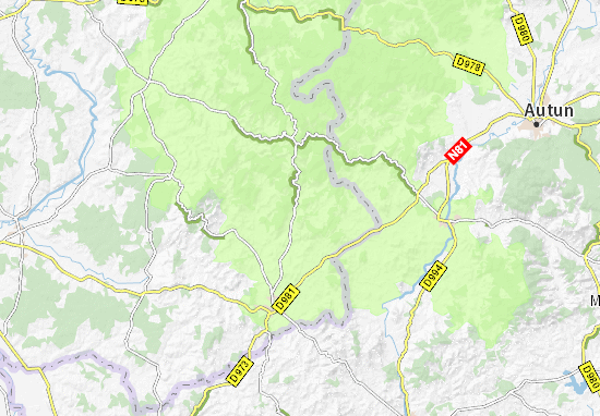 Larochemillay Map