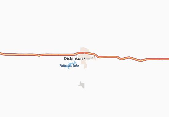 Dickinson Map