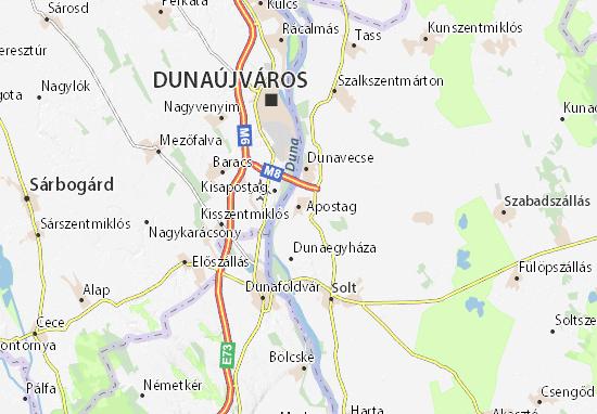 Apostag Map