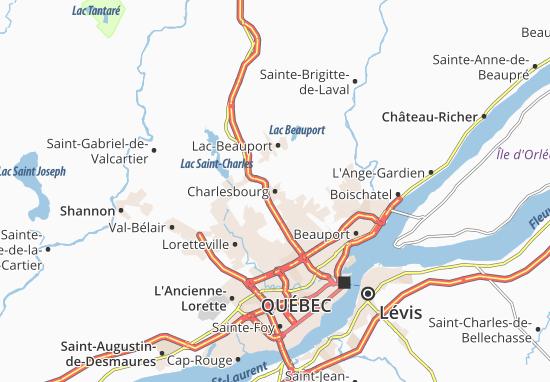 Charlesbourg Map