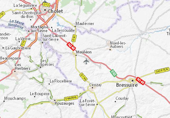 Map of Le Grand Plessis - Michelin Le Grand Plessis map - ViaMichelin