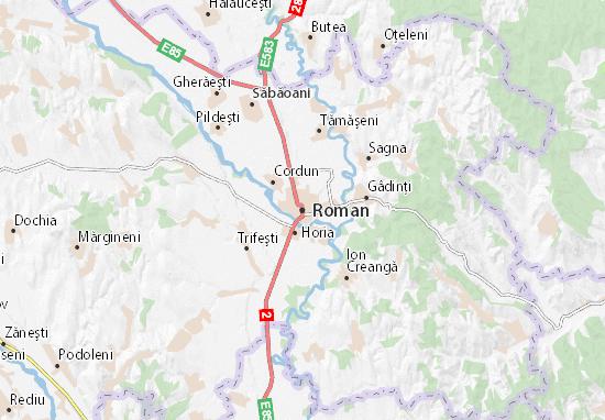 Mapa Plano Roman
