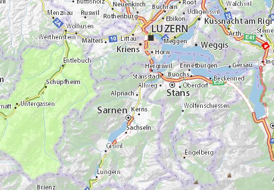 Carte-Plan Alpnach