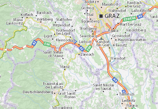 Mapas-Planos Lannach