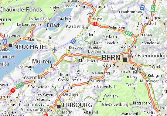 Mühleberg Map