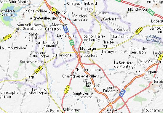 Mapa Plano Boufféré