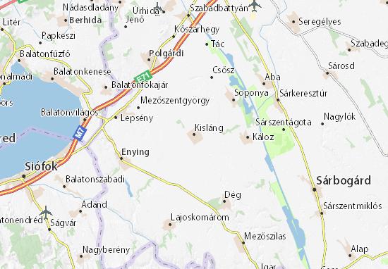 Mapas-Planos Kisláng